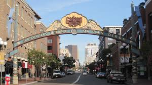 Gaslamp Quarter sign